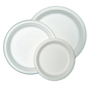 bagasse plate by JUST OFF UK