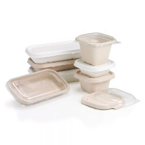 Bagasse Container by JUST OFF UK